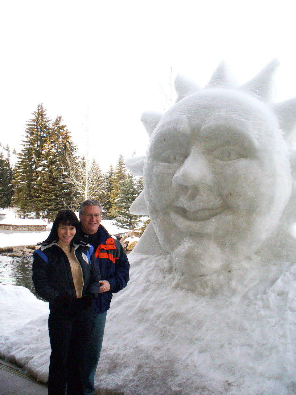 Linda Deir & Ray Holley in Sun Valley, ID