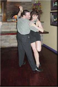 Linda Deir tango dancing