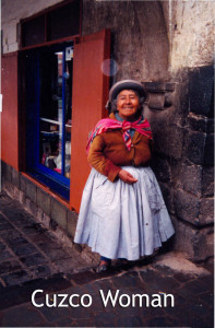 Cuzco Woman - Linda Deir took picture