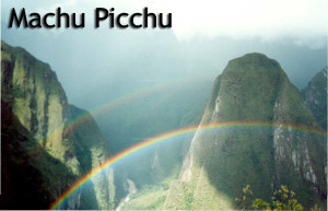 Machu Picchu Rainbows - Linda Deir took picture