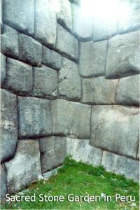 Sacred Stone Garden in Peru - Linda Deir took picture
