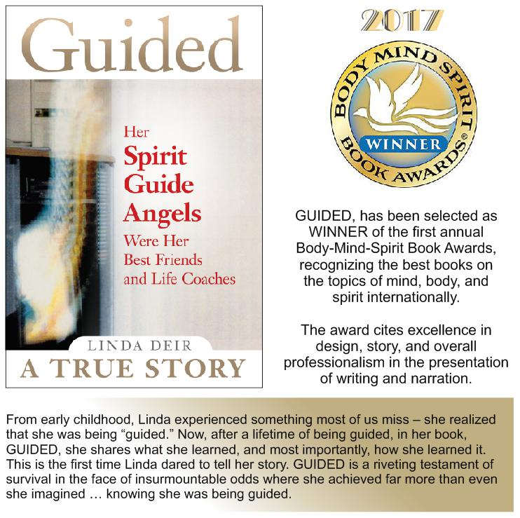 GUIDED - 2017 WINNER Body-Mind-Spirit-International Book Awards