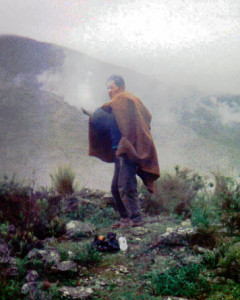 Bolivia Shaman, Papa Pablo, Blessing The Spirits