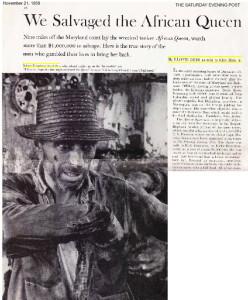 The Saturday Evening Post 1959 - Linda Deir's Uncle, Lloyd Deir