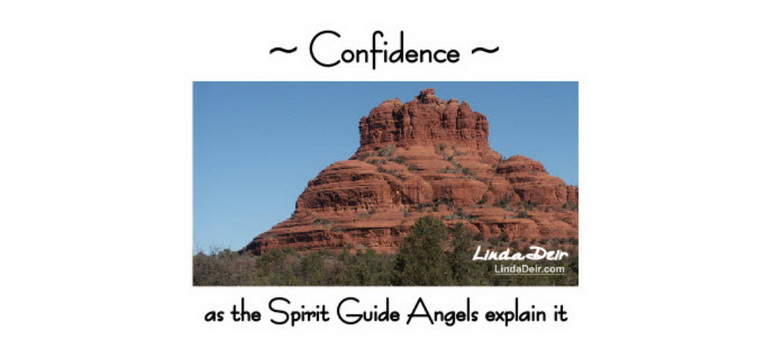 Confidence as the Spirit Guide Angels Explain it