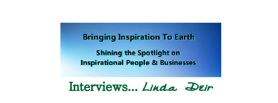 Bringing Inspiration to Earth – Robert Sharpe show interviews Linda Deir
