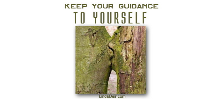 Keep Your Guidance to Yourself