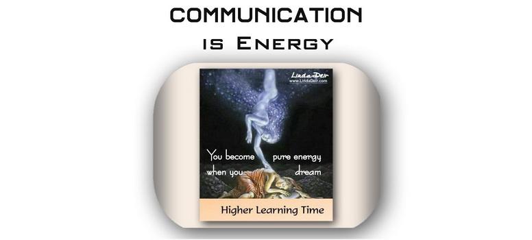 Communication is Energy