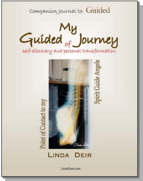 """My Guided Journey - companion """"journal"""" to GUIDED, by Linda Deir"""