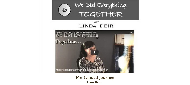 We did everything together - My Guided Journey