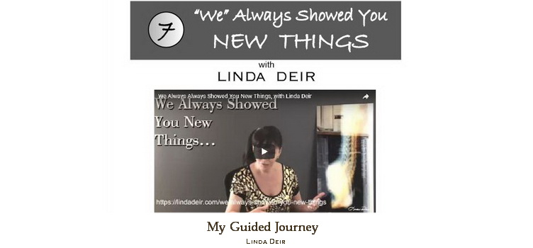 We always showed you new things - My Guided Journey