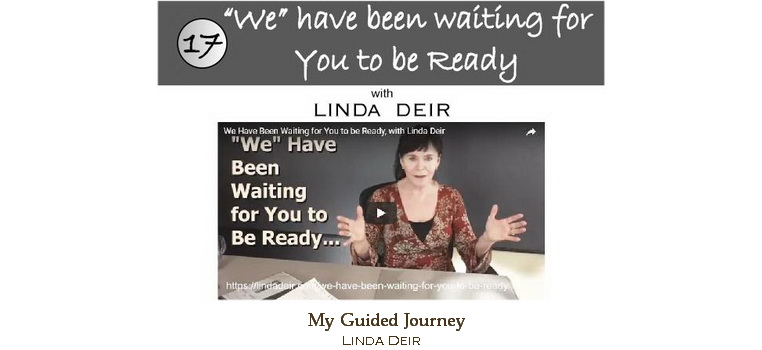 We have been waiting for you to be ready - My Guided Journey