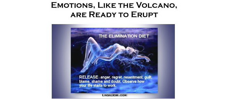 Emotions, Like the Volcano, are Ready to Erupt
