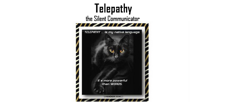 Telepathy ... Telepathy ... the Silent Communicator