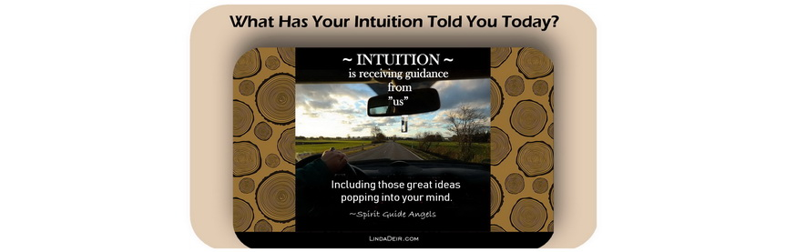 What has Your Intuition Told You Today?