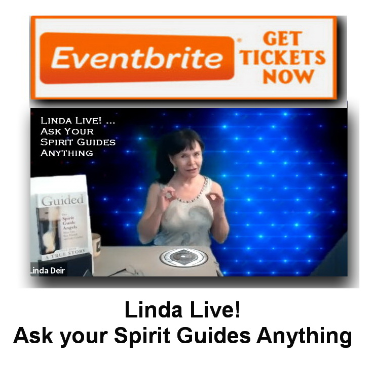 Linda Live! Ask your Spirit Guides Anything