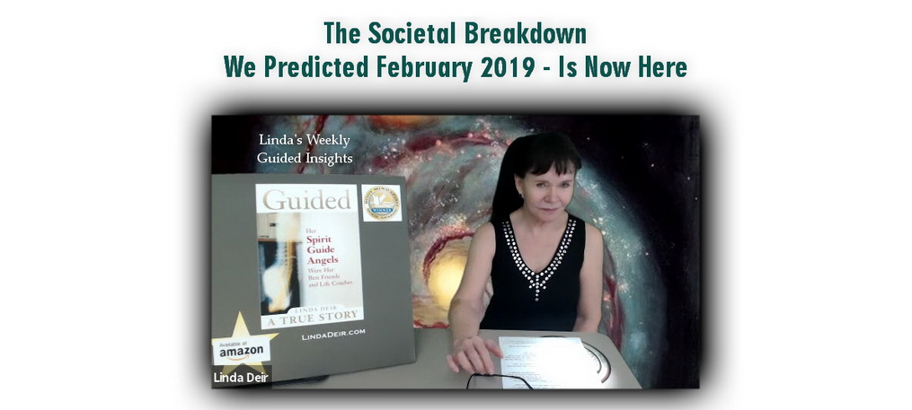 The Societal Breakdown We Predicted February 2019 - Is Now Here