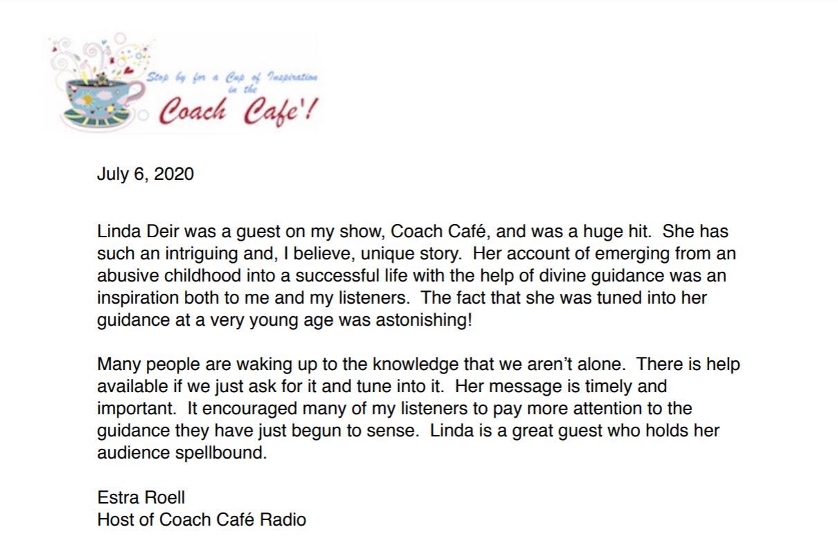 Estra Roell, Coach Cafe Radio