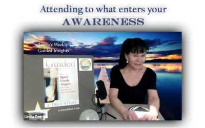 Attending to what enters your Awareness