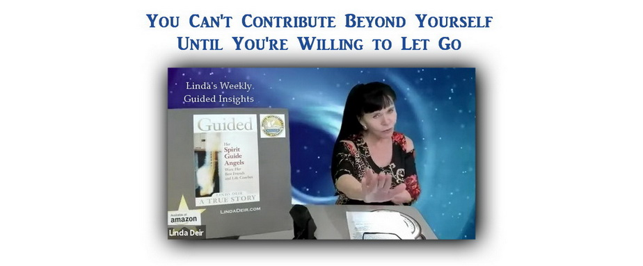 You Can't Contribute Beyond Yourself Until You're Willing to Let Go